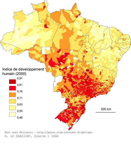 Nourrir Les Bresiliens Carte Mentale.Le Rio Grande Do Sul Une Europe Bresilienne Une Approche