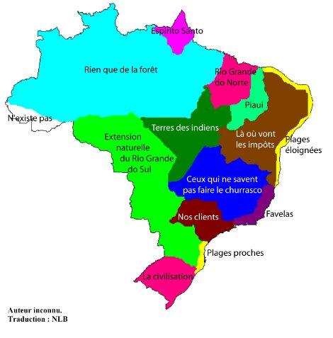 Carte Bresil Sertao.Le Rio Grande Do Sul Une Europe Bresilienne Une Approche
